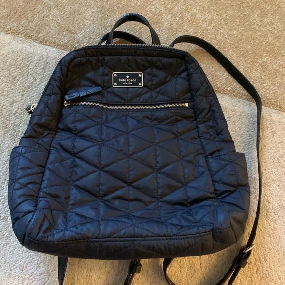 Kate Spade backpack black